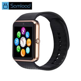 2019 gv18 smart watches Bluetooth Smart Watch GT08 Für iphone IOS Android Telefon Handgelenk Tragen Unterstützung Sync smart uhr Sim Karte PK DZ09 GV18 günstig gv18 smart watches