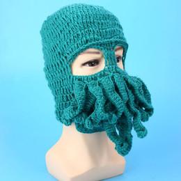 460650ee96f Comfortable Octopus Ski Cap Hat Beanies Ski Mask Funny Winter Accessory