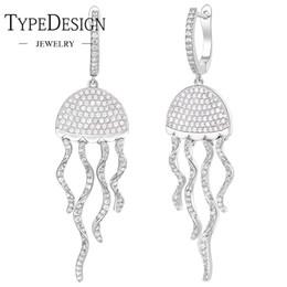flor de plata mate Rebajas TIPO JOYERÍA Pendientes de medusas borlas de plata de ley pendientes elegantes elegantes de la personalidad para las mujeres