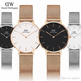 Daniel wellington dw часы женские Наручные часы женщины люксовый бренд из  нержавеющей стали золото дизайнер кварцевые часы Montres pour femmes дешево  dw ... ae3d7cc93777e