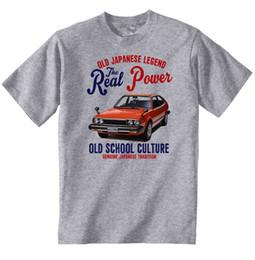 CARRO JAPONÊS VINTAGE HONDA ACCORD 1800 - NOVA ALGODÃO T-SHIRT engraçado 100% camiseta de Algodão cheap honda japanese car de Fornecedores de honda carro japonês