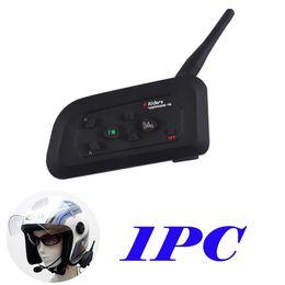 Wholesale Bluetooth V4 - V4 Motorcycle Riders Helmet Intercom Bluetooth Interphone 1200M Range - Motorcycle Snowmobile Skiing Multi Interphone Headsets