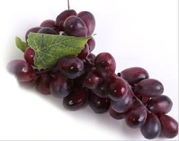 pinturas de frutas Desconto Artificial Verde Roxo Uva Cluster Simulação Falso Fruit House Kitchen Decoração Do Partido Lifelike Ainda Pinturas de Vida Decoração Da Loja