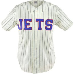 Wholesale grand double - Grand Rapids Jets 1950 Home Jersey Double Stiched Name & Number & Logos Baseball Jersey For Men Women Youth Customizable