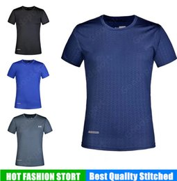 Wholesale solid color shirts - NEW UA jogging clothing Running Style Man shirts Sweatshirts Hip Hop Sport CAUSAL TOP NEW shirts jersey vest street summer Gym fitness 046