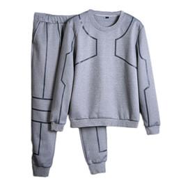 ebbbfb022b4b schöner mann kleidung Rabatt Vogue Männer Kleidung Set Sportswear Nizza  Frühling Sweatshirts   Hoodies + Pants