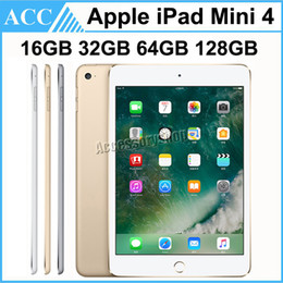 Ricondizionato Originale Apple iPad Mini 4 WIFI Versione 16 GB 32 GB 64 GB 128 GB 7.9 pollici Retina Display ISO Dual Core A8 Chipset Tablet PC DHL 1 pz da a8 compressa fornitori