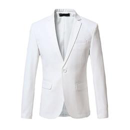 Wholesale Men S Dinner Jackets - Custom Made New Style Men's Solid Back Vent Blazer One Button Tuxedo Slim Fit Dinner Jacket Men Suit Jackets