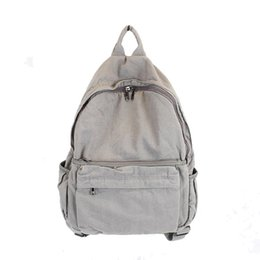 girls campus backpacks Coupons - Korean Women Casual Canvas Campus Backpack  Student Girl Retro School Bags dff65bf1e8