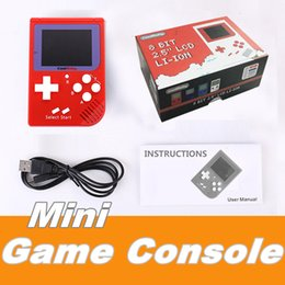 Wholesale Nes Lcd - CoolBaby RS-6 Portable Retro Mini Handheld Game Console 8 bit Color LCD Game Player For FC Game Free DHL