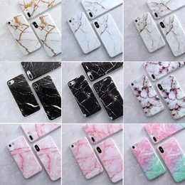 Wholesale Most Popular Kids - Most Popular Colorful Marble Mobile Phone Cases for Iphone x 6 6s 7 7s 8 plus For men boys kids
