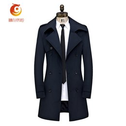 Marina Sconti Blu Moda Cappotto Per New Coat Di Navy Uomo Trench Cappotti Long AawE5qxSRc