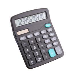 2019 calculadora de batería solar Calculadora de oficina comercial Batería de gran tamaño Pantalla de 12 dígitos Calculadora electrónica Venta caliente portátil Calculadora solar calculadora de batería solar baratos