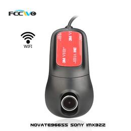 FCCWO R2 Dash Cam DVR DVS Novatek96655 Sony IMX322 WiFi 1080P Registrator Video Recorder Auto Cámara Dashcam dvrs Dash Cam desde fabricantes