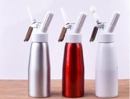 Wholesale Whipping Cream - Dispenser Whip Dessert ,Coffee ,Fresh Cream, Butter Dispenser Whipper Foam Maker Metal 500 ml
