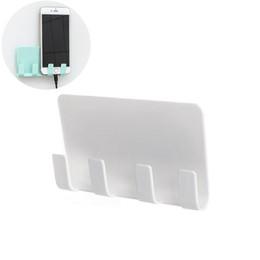 Зарядное устройство для телефона Настенный 4 крючка для хранения вешалка для ванной комнаты от