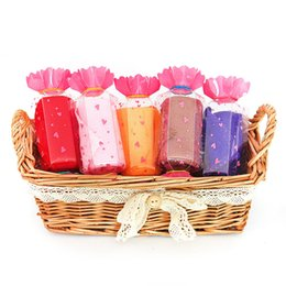 Wholesale Towels Cakes - 1PC 17*17CM Gift Towel Creative Lovely Mini Candy Cup Cake Towel Cotton Hand Face Party Gifts Home Textile