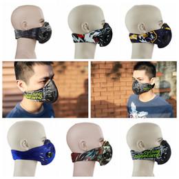 Masques faciaux au charbon actif en Ligne-Masque à l'épreuve de la poussière de cyclisme