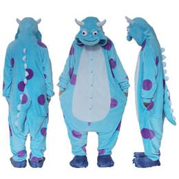 Wholesale kigurumi unisex pyjamas cosplay costumes - Adult Unisex Fancy Dress Cosplay Onesie Kigurumi Pyjamas Animal Sleepwear