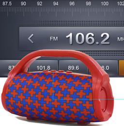 mejores altavoces bluetooth portátiles de bajo Rebajas El mejor altavoz inalámbrico bluetooth impermeable portátil al aire libre altavoz de la bicicleta caja de la columna altavoz de alta fidelidad bajo FM Radio TF Mp3