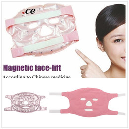 20 pcs DHL Gel Tourmaline Magnétique Facial Masque Visage Minceur Beauté Massage Fat Burn Masque Visage Mince Visage Retirer Pochette Faciale Beauté Outil ? partir de fabricateur