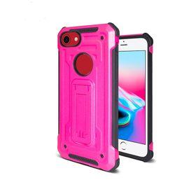 Zte blade pro online-Per Iphone X iphone 6 6 plus ZTE Avid 4 Blade Z max pro 2 Z982 Hybrid Armor Vantage Dual Kickstand Phone case