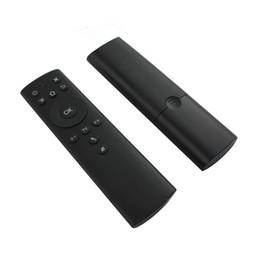 usb telecomando htpc Sconti Telecomando wireless 2.4G Air Mouse per Android TV Box Controller di apprendimento IR a 6 assi Motion Sensing con ricevitore USB