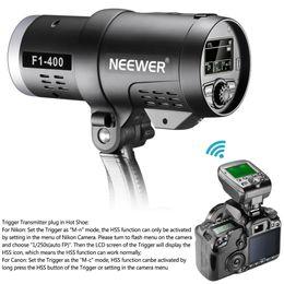 Ttl kamera online-Großhandel Dual TTL Outdoor Blitzlicht für Canon Nikon DSLR Kamera, mit 2.4G Wireless Trigger + 3200mAh Akku