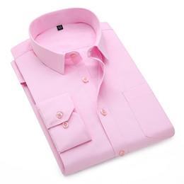 ea3d8e27ff1 HCXY 2018 high quality Office shirt for men classic business long sleeve  mens shirts Casual plus size 5xl dress shirt