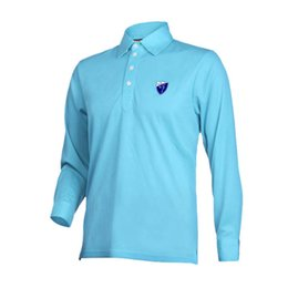 e0c00fef9ae PGM Brand Men Golf Shirt Breathable Long Sleeve Turn-down Collar Polo Shirt  Golf Clothing Men Quick Dry Trainning Supplies