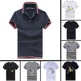 stil berühmte marke baumwolle männer Rabatt neuer berühmter Markenmännert-shirt Baumwollsommerkurzschlußt-shirt Mannart und weiseartt-shirts 100% heißer Verkauf