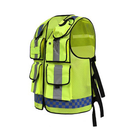 Wholesale police motorcycles - EN471 High visibility Reflective safety Vests Police Traffic Motorcycle Reflective Cothing