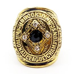 Wholesale League Championship Ring - whole saleHigh quality 1956 brooklyn dodgers national league championship ring