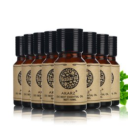 Wholesale pure sandalwood - AKARZ Famous brand value meals Musk Rose Sandalwood Orange Patchouli Verbena Tea tree Lemon essential Oils 10ml*8