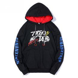 les hommes portent des vêtements Promotion 4 Couleurs Casual Automne Hoodies Hommes De La Mode Sweats Coton Top Pour Hommes Femmes Couple Chemise Manteau Avec Capuche Streetwears Hip-Hop Pull