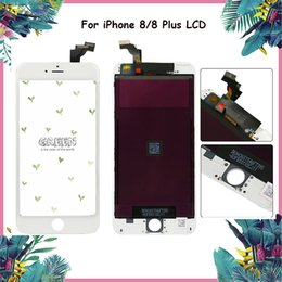 Wholesale function bars - Small Pack of LCD For iPhone 8 & 8 Plus LCD Display Touch Screen Digitizer Complete Assembly Replacement No dead pixel 3D Touch Function