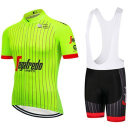 bd98ada62 Summer 2018 Pro team sporting Racing UCI world tour pro cycling jersey Bike  shorts set ropa ciclismo bicycle wear Fluorescence green