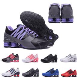 zapatillas de correr para hombre shox Rebajas nike air shox shoes 2018  NIKE  Cheap Avenue Entregar Turbo NZ R4 803 Hombres Zapatillas de baloncesto varios colorway hombres deporte correr zapatillas de diseño tamaño 40-46