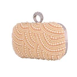 New Champagne perles sacs de soirée bleu noir gris perlé embrayage sac mariage embrayages de mariée parti dîner sac à main chaînes sac à main ? partir de fabricateur