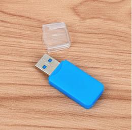 Argentina 100 UNIDS LOTE Adaptador USB 2.0 Portátil Micro SD SDHC Lector de Tarjetas de Memoria Escritor Flash Drive cheap memory reader portable Suministro