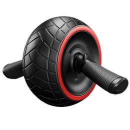 No Noise Ab Rotella addominale rotonda girovita sottile per Core Trainer Forza Esercizio Crossfit Press Gym Home Fitness Equipment cheap roller core da nucleo del rullo fornitori