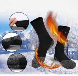 Wholesale feet warmers socks - 35 Below Socks Aluminized Fibers Keep Your Feet Warm and Dry Socks Sports Skateboard Stocking for Adult KKA4056