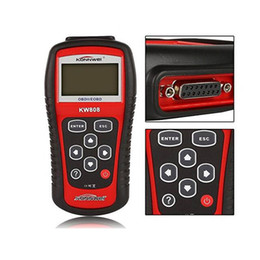 Wholesale Data Code - New Auto Diagnostic Tool Scanner OBD2 Code Reader KONNWEI KW808 Engine Reset EOBD MS509 Data Graphing
