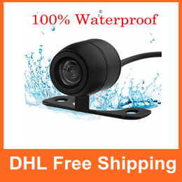 Wholesale Ccd Front View Car Camera - Waterproof Night Vision Car Rear Forward Back View Camera CCD 170 Degrees Backup Side Front Parking Camera CAL_00F