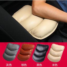 Toyota rav4 крышка автомобиля онлайн-Подлокотники автомобиля Крышка Подлокотник Сиденье Box Pad Защитный чехол Мягкие ПУ Коврики Для Toyota Yaris Camry Corolla Highlander Avensis Rav4
