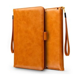 luxury cases for ipad Coupons - For iPad Pro 9.7 10.5 2017 air 2 4 Mini Luxury Leather Flip case cover with bracket Card holder flip cases