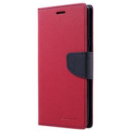 Custodia MERCURY GOOSPERY per Samsung Note 9 Fancy Custodia protettiva in pelle Flip Cover per Samsung Galaxy Note9 Capa supplier goospery leather da pelle scamosciata fornitori