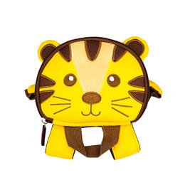 Meninas da velha escola on-line-TOCHANG Da Criança Dos Miúdos Pré Escola Saco Bonito 3D Cat Animal Crianças Leash Harness Leash Mochila para Meninas 2-7 Anos de Idade Médio