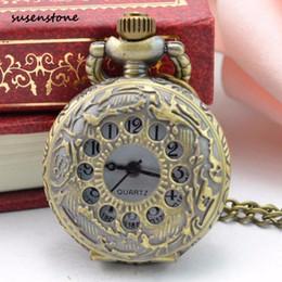 2019 смотреть женщин медь Susenstone 2018 Pocket Watch Top  Casual Clock For Men Women copper Color Pocket Watch 30 дешево смотреть женщин медь