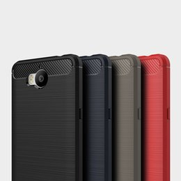 Wholesale Fiber Absorption - Rugged Armor Case for iPhone 8 Plus iPhone X for Samsung Galaxy Note 8 S9 Plus Anti Shock Absorption Carbon Fiber Design